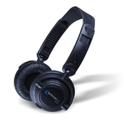 Technical Pro HP23 Swiveling Headphones With Adjustable Headband For Increased Functionality, Black