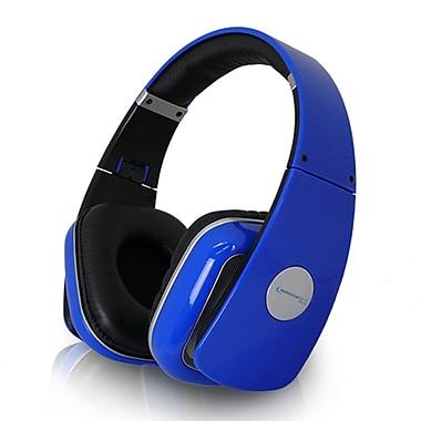 Technical Pro HP630 High Performance Professional Headphone With Adjustable Headband, Blue