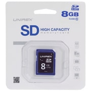 Unirex® 8GB SD High Capacity Class 10 Memory Card