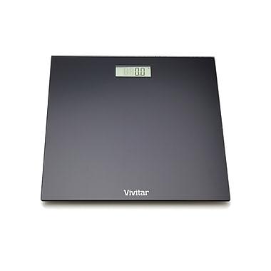vivitar® ps-v130 bodypro digital bathroom scale, black | staples®
