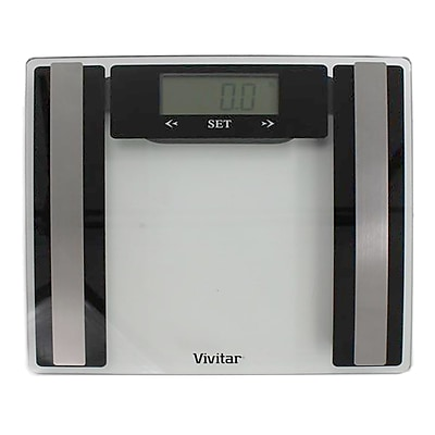vivitar® PS-V427 Total Fitness Body Analysis Digital Scale, Clear