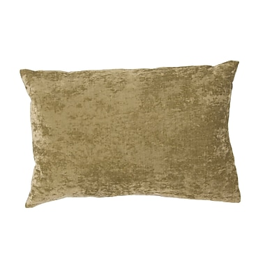Jaipur LUX05 Handmade Pillow Linen, Cotton & Acrylic, Leaf
