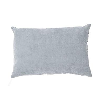 Jaipur LUX02 Handmade Pillow Linen, Cotton & Acrylic, Spa