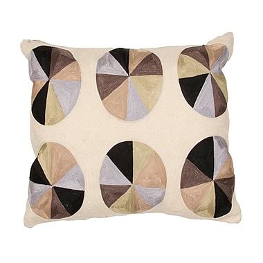 Jaipur LSC06 En Casa By Luli Sanchez Pillows Cotton, Natural & Black