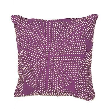 Jaipur LSC20 En Casa Cotton Pillow, Purple