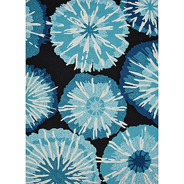 Jaipur Barcelona Abstract Area Rug Polypropylene, 5' x 7.6'