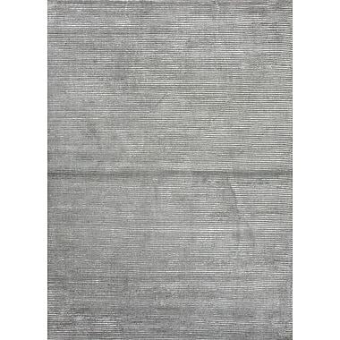 Jaipur Basis Area Rug Wool & Art Silk, 5' x 8'