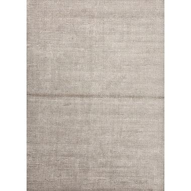 Jaipur Art Silk Wool & Art Silk 5' x 8', Classic Gray