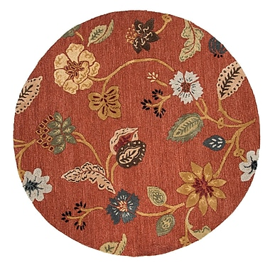 Jaipur Garden Party Area Rug Wool & Art Silk, 8' x 8'