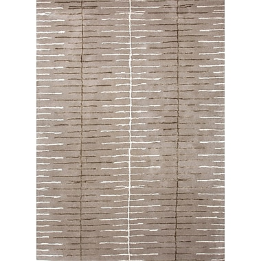Jaipur Blue Ashwood Geometric Area Rug Wool & Art Silk, 3.6' x 5.6'