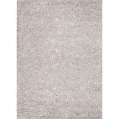 Jaipur Caravaggio Area Rug Wool & Art Silk, 2' x 3'