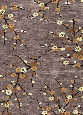 Jaipur Transitional Floral Polyester, 2' x 3' Steel