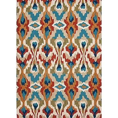 Jaipur Brio Area Rug Polyester 5' x 7.6', Dark Ivory