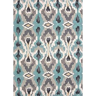 Jaipur Brio Area Rug Polyester 7.6' x 9.6', Soft Gold