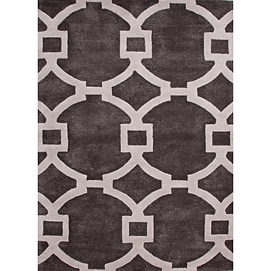Jaipur Regency Rectangle Area Rugs Wool & Art Silk, 5' x 8'