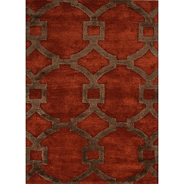 Jaipur City Area Rug Wool & Silk , 8' x 11'
