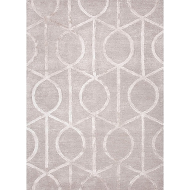 Jaipur City Geometric Area Rugs Wool & Art Silk, 2' x 3'