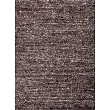 Jaipur Elements Area Rug Wool 2' x 3', Liquorice