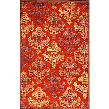 Jaipur Transitional Area Rugs Art Silk & Chenille, 2' x 3'