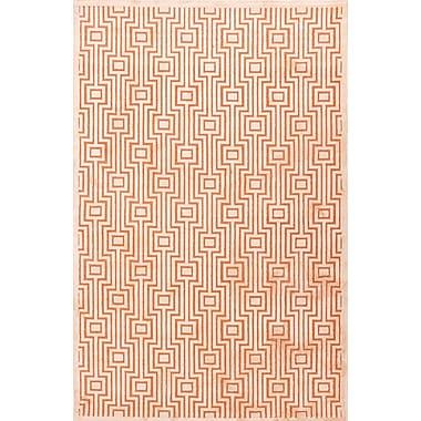 Jaipur Valiant Rectangle Area Rug Art Silk & Chenille, 5'x7.6'