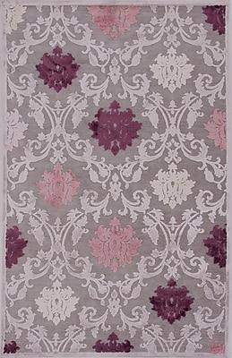 Jaipur Fables Floral Area Rug Art Silk & Chenille, 2' x 3'