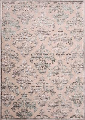 Jaipur Fables Area Rug Art Silk & Chenille, 2' x 3'