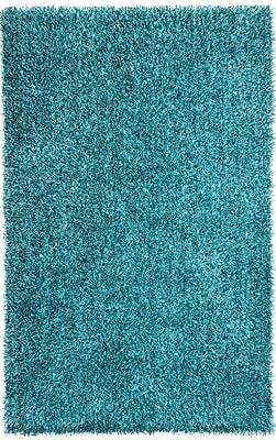 Jaipur Flux Blue Area Rug Polyester 7.5' x 9.5'