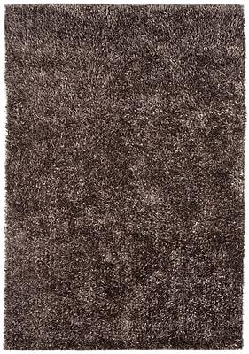 Jaipur Flux Brown Area Rug Polyester 3.5' x 5.5'