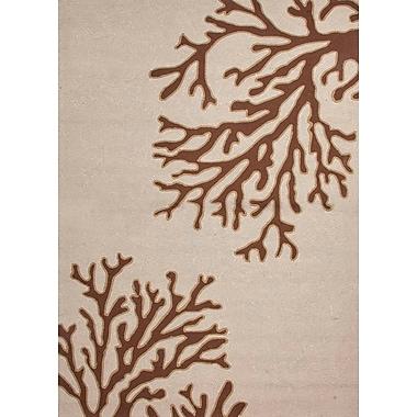 Jaipur Abstract Pattern Rectangular Area Rug Polypropylene, 7'6