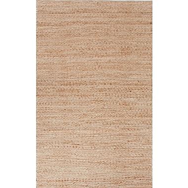 Jaipur Clifton Area Rug Jute & Cotton, 5' x 8'