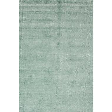 Jaipur Konstrukt Area Rug Wool & art silk 9' x 13', Aruba Blue