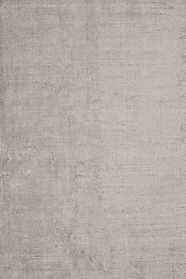 Jaipur Handloom Solid Pattern Wool & art silk 8' x 10', Nickel