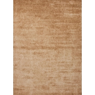 Jaipur Solid Pattern Rectangle Area Rug, 5' x 8'