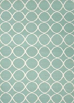 Jaipur Flat Weave Area Rug Wool, 3.6' x 5.6'