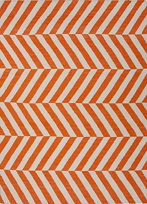 Jaipur Handmade Stripe Area Rug Wool, 10' x 8'