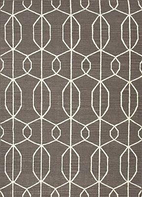 Jaipur Liquorice Area Rug Wool, 5' x 8'