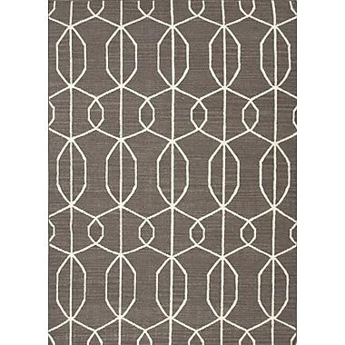 Jaipur Liquorice Area Rug Wool, 8' x 10'