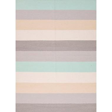 Jaipur Stripe Area Rug Wool, 2' x 3'