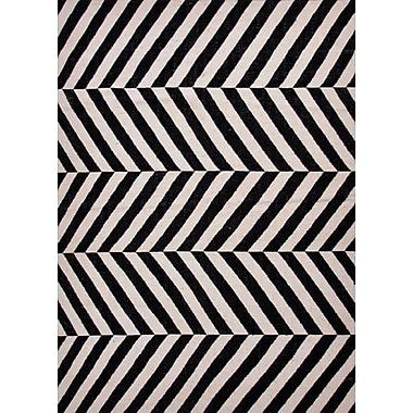 Jaipur Maroc Flat Weave Area Rug Wool, 3.6' x 5.6'