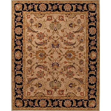 Jaipur Traditional Area Rug Wool, 2' x 3'