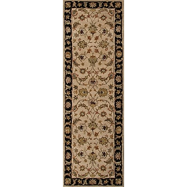 Jaipur Orienal Area Rug Wool, 3' x 12'