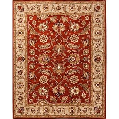 Jaipur Hand Tufted Oriental Pattern Area Rug Wool, 2.6'x4'