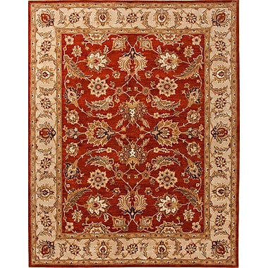 Jaipur Hand Tufted Oriental Pattern Area Rug Wool, 2' x 3'