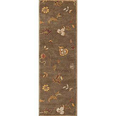 Jaipur Hand Tufted Floral Area Rug Wool 2'6
