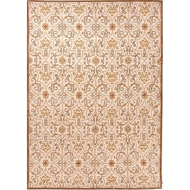 Jaipur Poeme Arts & Craft Area Rug Wool, 3.6' x 5.6'