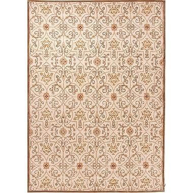 Jaipur Poeme Arts & Craft Area Rug Wool, 5' x 8'