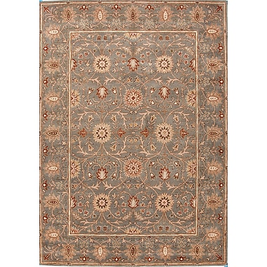 Jaipur Oriental Rectangular Area Rug Wool, 3.6' x 5.6'