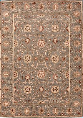Jaipur Oriental Rectangular Area Rug Wool, 3.6' x 5.6'
