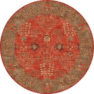 Jaipur Poeme Arts & Craft Rug Wool, 6' x 6'