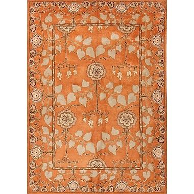 Jaipur Poeme Pumpkin Rug Wool, 5' x 8'